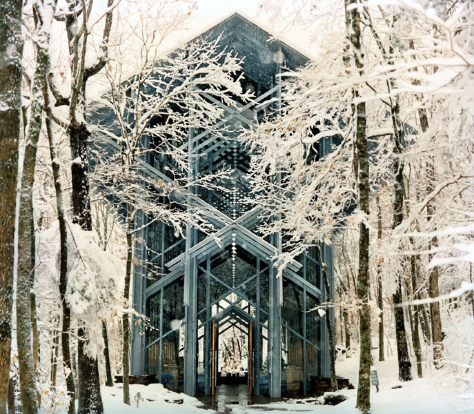 ©Thorncrown Chapel