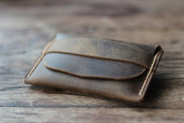 Leather wallet by JooJoobs