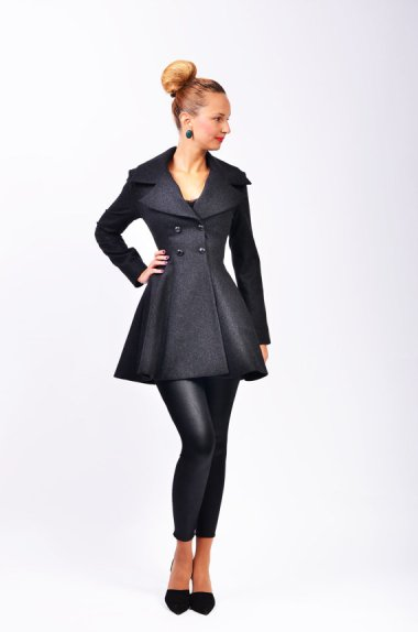 Wool jacket by LauraGalic