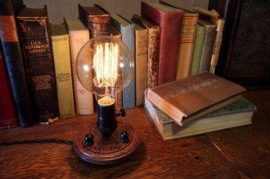 Steampunk Edison lamp by Timberson
