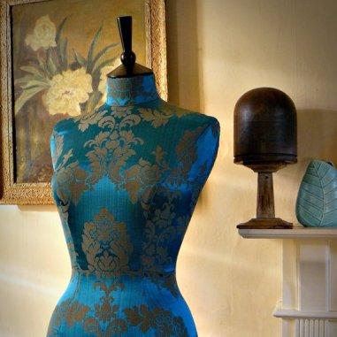 Decorative dressform by CorsetLacedMannequin