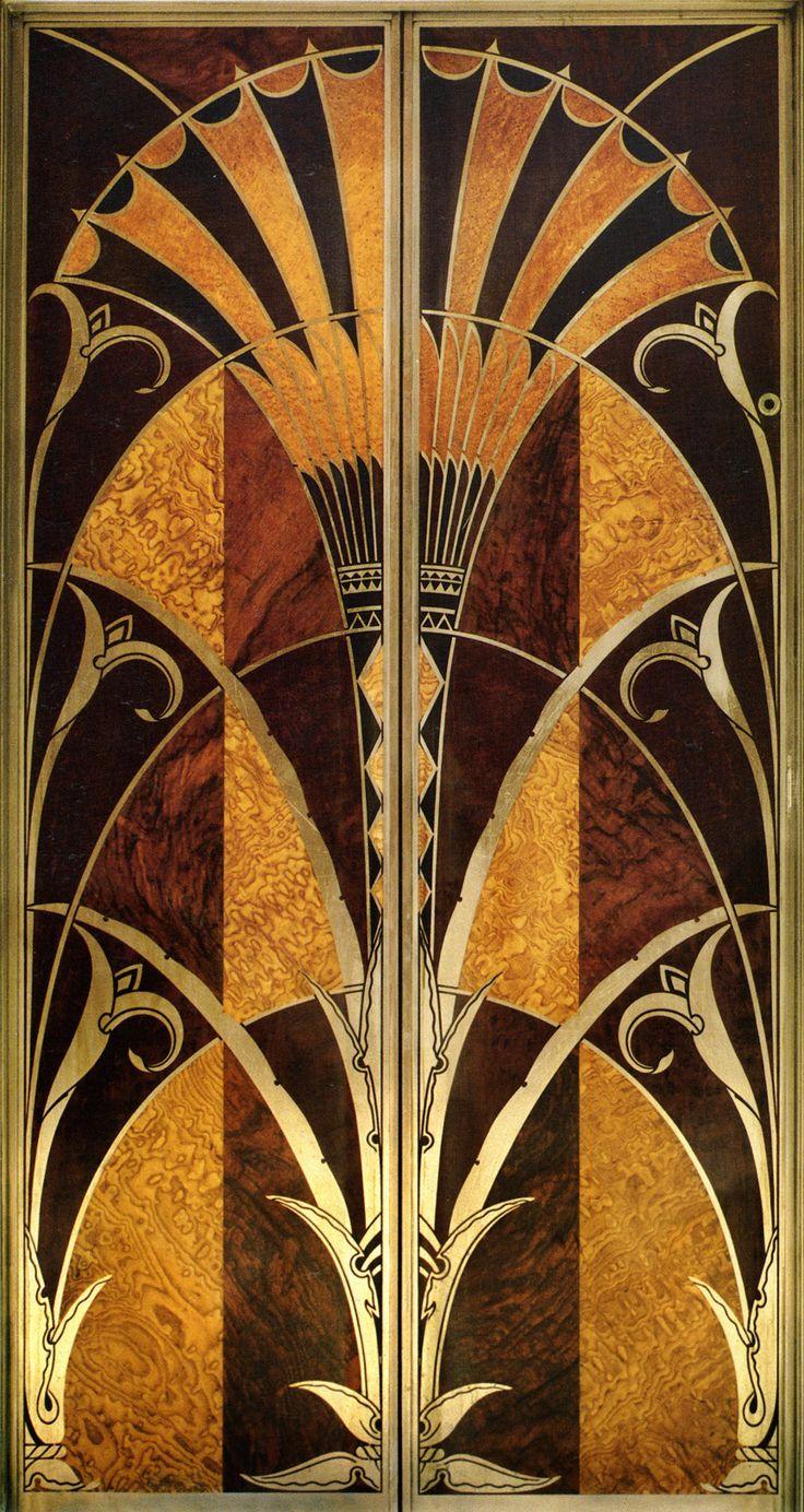 Chrysler Building Elevator Doors on Pinterest