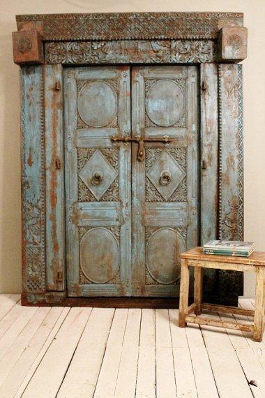 Antique Indian Doors HammerAndHandImports