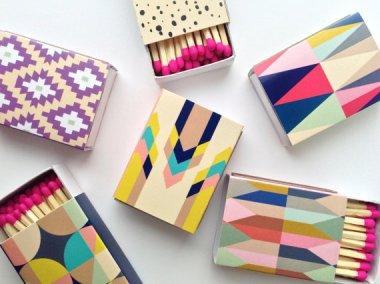Beautiful matchbox covers BelloPop