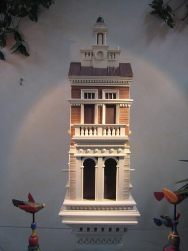 Need the perfect birdhouse to go with your mansion? Have no fear. You will be the envy of all your neighbors with this $1500 Cadillac of birdhouses. By DonaldEvans.