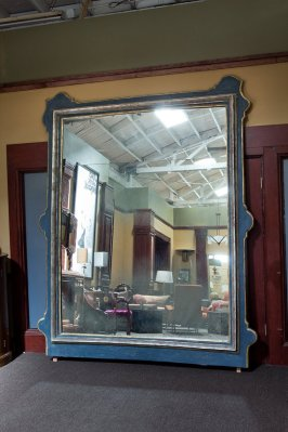 How much to you have to love looking at yourself to spend $15K on a 7.5' x 9.5' mirror? By LaVintageFurnishings