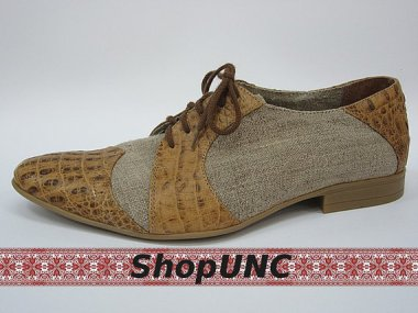 At least the men are faring better. Super-stylish hemp shoes by ShopUNC