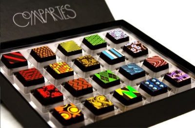 Compartmentes Chocolates in L.A.