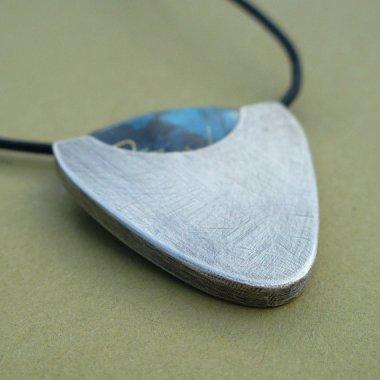 Genius guitar pick holder necklace by LunasaDesign