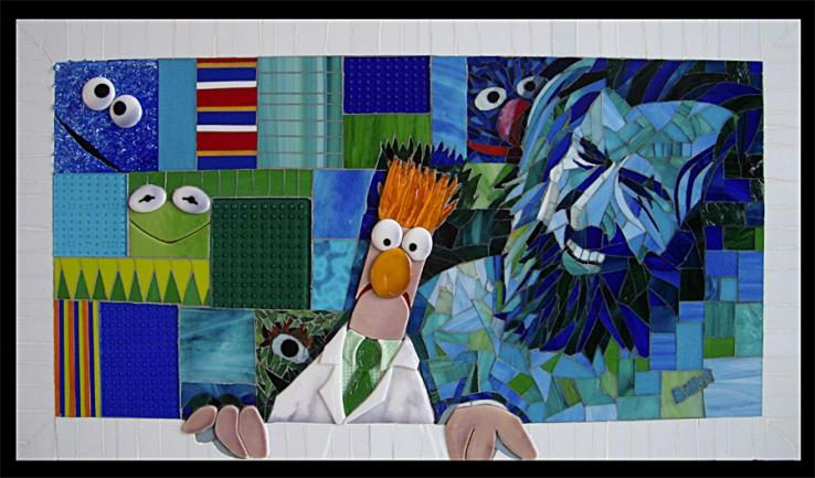 """""""Meep Believing"""" Jim Henson portrait by Linda Billet"""