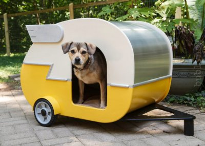 Airstream dog house by Jumahl
