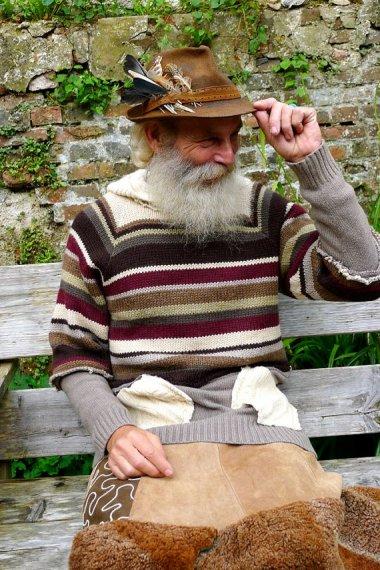By DarrylBlack, favorite designer of crazy old man pigeon-feeders worldwide