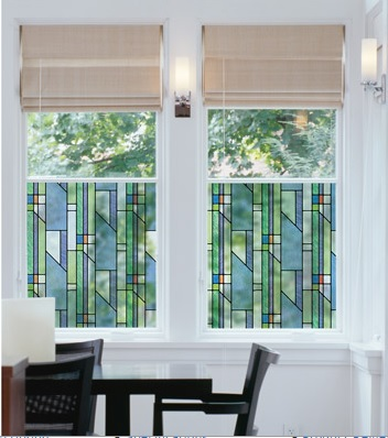 Stained Glass Window Film sold by Kohl's