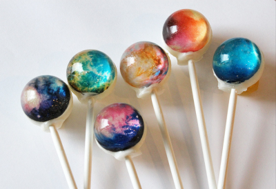 Nebula Lollipops