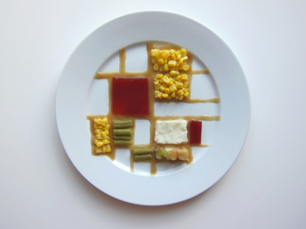 Mondrian Thanksgiving Dinner by Hannah Rothstein