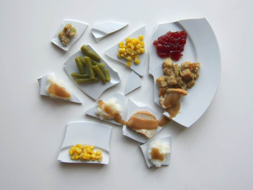 Picasso Thanksgiving Dinner by Hannah Rothstein