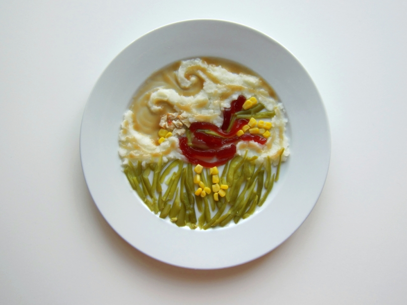 van Gogh Thanksgiving Dinner by Hannah Rothstein
