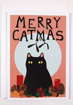 The Cat People definitely enjoy getting their holiday on. By, and I am not making this up, ILikeCatsShop