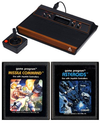 Atari, plus two of the hottest games of the day!