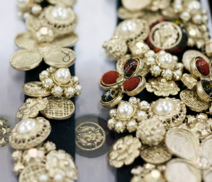 Chanel buttons by Desrues