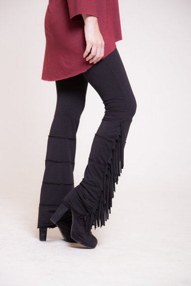 """""""Leggings"""" is another search term fraught with peril, but it also pulls up beauties like these super-cute fringed thingies. By Almogdesigns who unfortunately also sells these"""