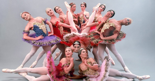 Les Ballets Trockadero de Monte Carlo (a completely unrelated picture, but aren't they adorable?)
