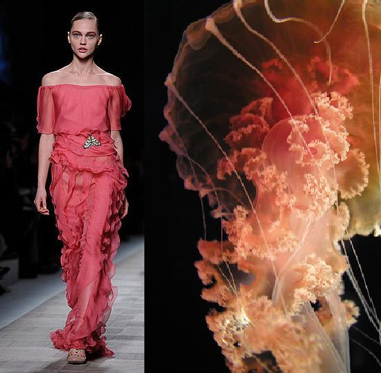 jellyfish-inspired fashion Photo MyModernMet