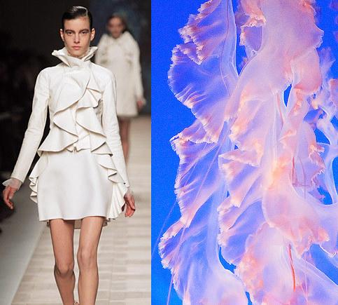 jellyfish-inspired fashion Photo MyModernMet