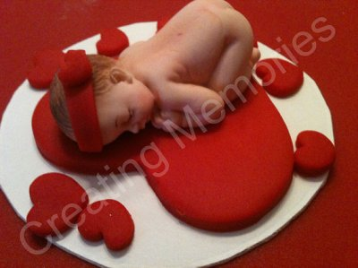 Valentine's Day! Here's an edible baby! By AnaFeke