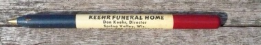 A pen from a funeral home? Really? Who saves this crap? Sold by AusableRiverTrader