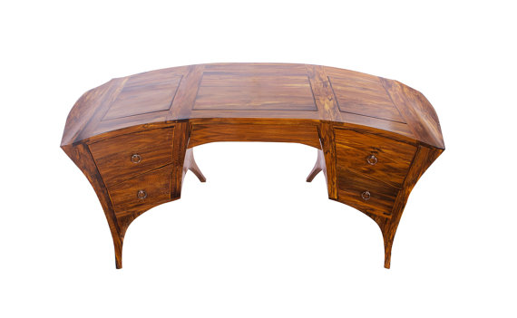 Pigeon - Wenge Executive Desk