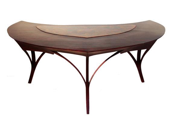 Verdin - Natural Elegant Executive Desk