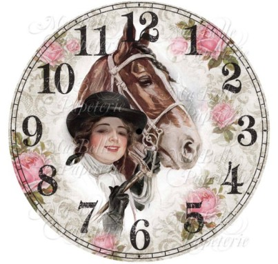 For example, here's a busy, busy, busy clock face available for download from MaBellePapeterie. Yuck.