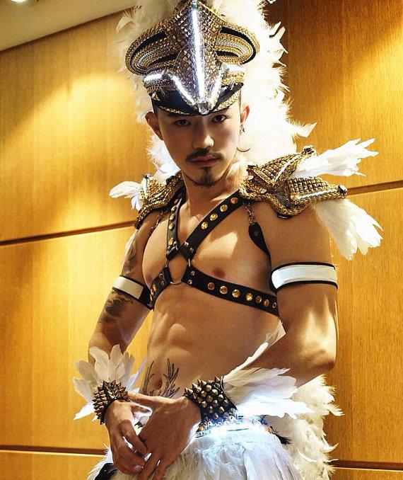 LED Feather Epaulets