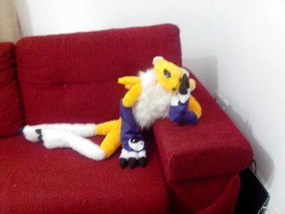 """""""Renamon 3.28ft long short plush fur from Digimon"""" Someone please tell me what's sexy about this. No, I take it back. Please don't. By FullPlateNinja"""