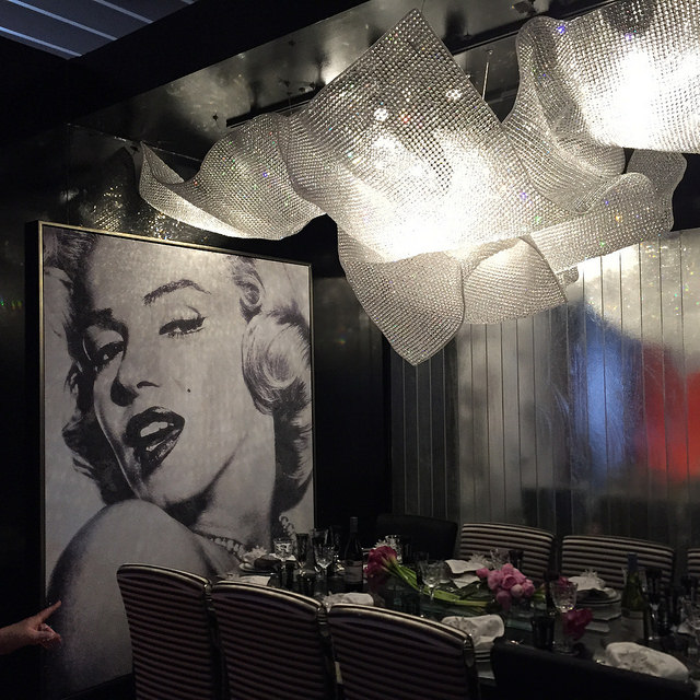 DIFFA Dining by Design 2015 entry sponsored by Manhattan Magazine & Fendi Casa, designed by Noelia Ibanez whose paintings I saw in the exhibit hall and absolutely loved