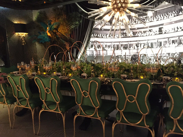 DIFFA Dining by Design 2015 entry sponsored by New York Design Center designed by Marks & Frantz. We met the designer, and she was really lovely and generous with her time.