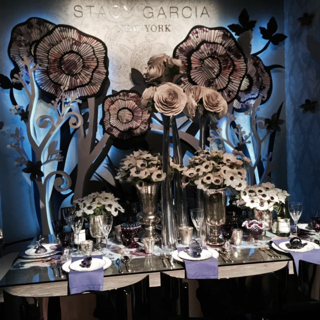 DIFFA Dining by Design 2015 entry sponsored and designed by Stacy Garcia New York, whose work I absolutely loved