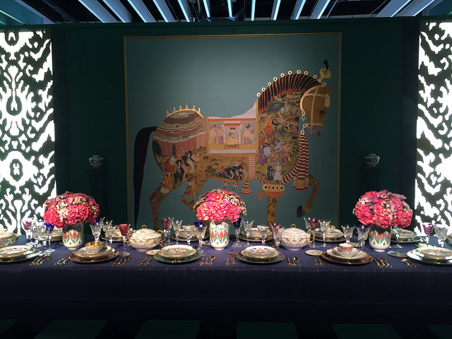 DIFFA Dining by Design 2015 entry sponsored and designed by Hermes. It was so beautiful, we died.