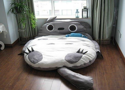 Crazy cat lady bed.