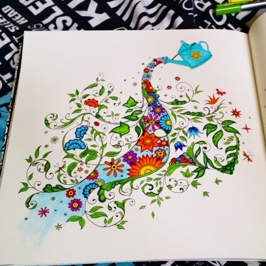 """Secret Garden"" colored by Steph"