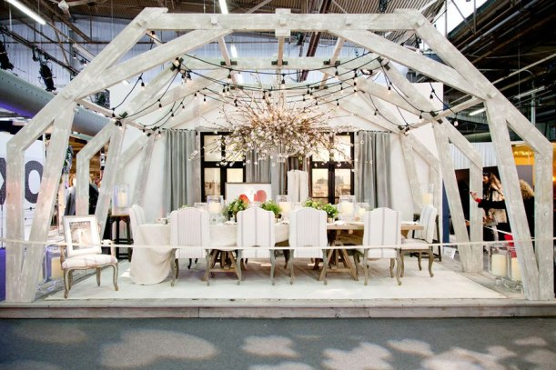 The Ralph Lauren display from the 2014 DIFFA Dining by Design show