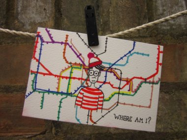 How sad. Not even Waldo knows where he is. By Claudes Wonders