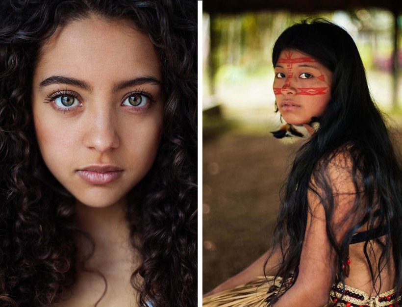 """Romanian photographer Mihaela Noroc has made it her life's work to travel around the world photographing each unique culture's image of beauty. Her project is called """"Atlas of Beauty."""""""