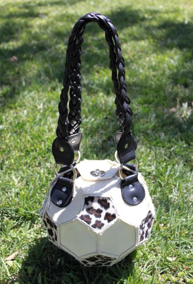 Why in the world would anyone want an animal-print soccer ball purse? By RandallVonEbersole