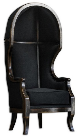 And speaking of the Munsters . . . Canopy chair sold by Houzz.com