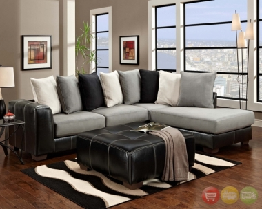 I can see myself spending loads of time straightening and rearranging the pillows, but if you don't suffer from such compulsions, this would be a great-looking sectional. Sold on Yahoo!