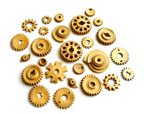 Edible Candy Gears