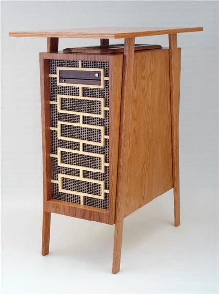"""As cool as those monitors, keyboards, and mice are, this CPU blows them completely out of the water. Can you imagine owning a computer this beautiful? Designed by Jeffrey Stephenson, the Mid-Century Madness is described by its designer as """"Don Draper's PC."""""""