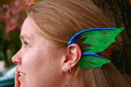 They'd make pretty respectable Spock ears, too!